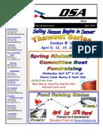 2009 04 Apr Newsletter