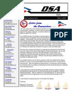 2009 03 Mar Newsletter