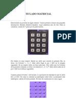TECLADO 3x4