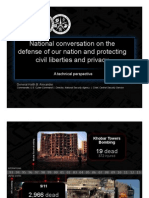 NSA Chief Keith Alexander Presentation - Black Hat 2013