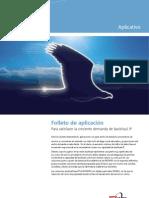 IP Backhaul Application Note - Spanish