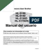Manual Brother Hl5150d
