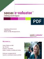 AVPN Workshop on Social Impact Measurement