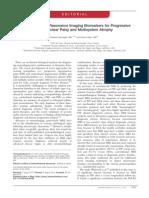 Toward Magnetic Resonance Imaging Biomarkers for Progressive