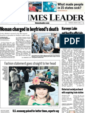 Times Leader 08-01-2013 | United States Department Of