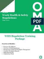 whs regulation training presentation-dw-august