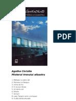 Agatha Christie - Misterul Trenului Albastru