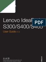 Ideapad s300 s400 s405 Ug 1st Edition Jun 2012 English