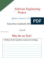 Testing CS3202 Slides