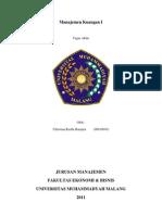 Kedudukan Manajemen Keuangan dalam Suatu Organisasi Perusahaan