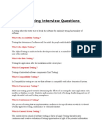 40 Testing Q&A