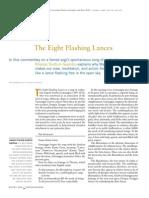 The Eight Flashing Lances.kenpo Tsultrim