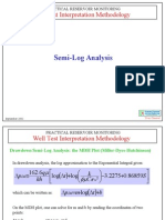 Semi-Log Analysis