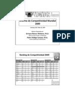 Informe Ranking IMD_2009