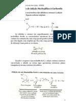Reações de Adição Nucleofílica a Carbonila