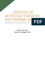 Motricidad y Memoria
