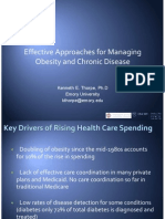 Effective Approaches for Managing Obesity and Chronic Disease