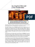 Wagner, Siegfried, Marx, and the New World Order