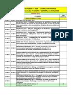 Caledário Acadêmico UFAM 2013-2014