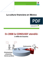 CulturaFinanciera y la CONDUSEF