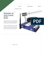 Aquário _ Repetidor de Sinal Celular 900 MHz