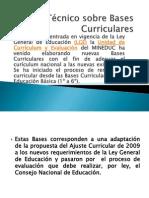 Apoyo Técnico sobre Bases Curriculares