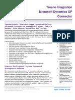 Treeno Software - Microsoft Dynamics GP Integration Brochure