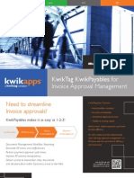 KwikPayables PO and Invoice Approval Brochure