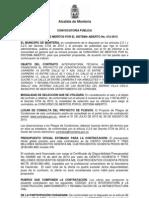Convocatoria Cm 012 13