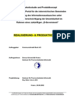 E-Government Gemeinde Umfrage 2002