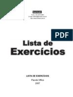 Exercicios MS Office 2007
