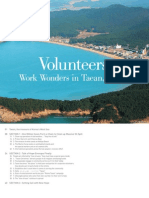 Volunteers Work Wonders in Taean, Korea