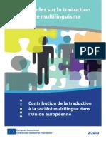 1348-Contribution de la traduction à la société multilingue dans l'Union européenne 2010