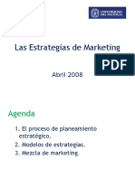 Estrategias del Marketing
