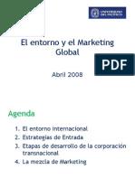 El entorno y el Marketing Global
