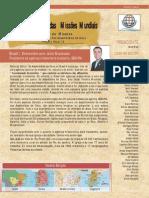 Conexão ao Mundo das Missões Mundiais - Março 2013