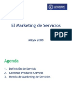 El Marketing de Servicios