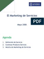 El Marketing de Servicios