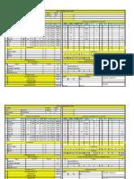 Tool Estimation Sheet