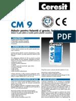 CM 9 Fisa Tehnica