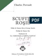 Povesti Copii Charles Perrault Scufita Rosie