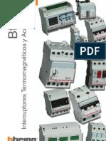 Catalogo de Bticino-Termomagneticos,Diferenciales y Guardamotor
