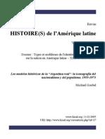 Goebel Iconografia Del Nacionalismo y Populismo