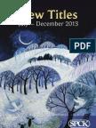 SPCK Seasonal Catalogue July-Dec 2013