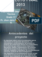 Proyecto Final 2013