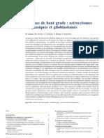Gliomes de Haut Grade - Astrocytomes