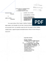 Ariel Castro - Sentencing Memorandum