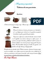 Cobertura de Cacao Para Tartas