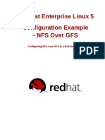 Red Hat Enterprise Linux-5-Configuration Example - NFS Over GFS-En-US