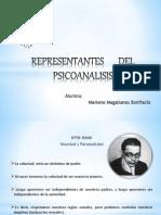 REPRESENTANTES DEL PSICOANÁLISIS